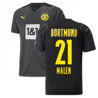 2021-2022 Borussia Dortmund Away Shirt (MALEN 21)