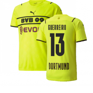 2021-2022 Borussia Dortmund CUP Shirt (Kids) (GUERREIRO 13)