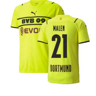 2021-2022 Borussia Dortmund CUP Shirt (Kids) (MALEN 21)