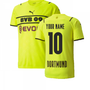 2021-2022 Borussia Dortmund CUP Shirt (Kids)