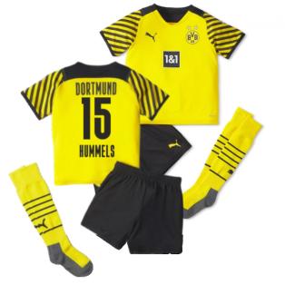 2021-2022 Borussia Dortmund Home Mini Kit (HUMMELS 15)
