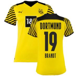 2021-2022 Borussia Dortmund Home Shirt (Ladies) (BRANDT 19)