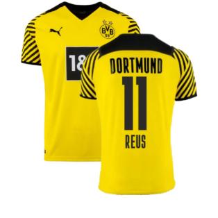 2021-2022 Borussia Dortmund Home Shirt (REUS 11)