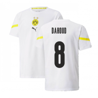 2021-2022 Borussia Dortmund Pre Match Shirt (Kids) (DAHOUD 8)