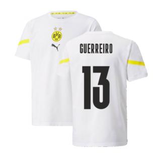 2021-2022 Borussia Dortmund Pre Match Shirt (Kids) (GUERREIRO 13)