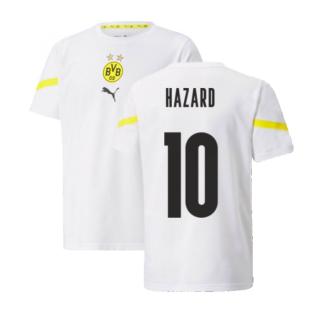 2021-2022 Borussia Dortmund Pre Match Shirt (Kids) (HAZARD 10)