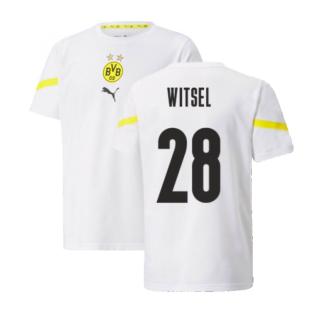2021-2022 Borussia Dortmund Pre Match Shirt (Kids) (WITSEL 28)