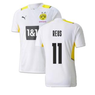 2021-2022 Borussia Dortmund Training Jersey (White) (REUS 11)