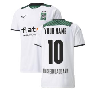 2021-2022 Borussia MGB Home Shirt (Your Name)