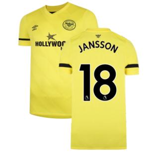 2021-2022 Brentford Away Shirt (JANSSON 18)