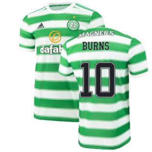 2021-2022 Celtic Home Shirt (BURNS 10)