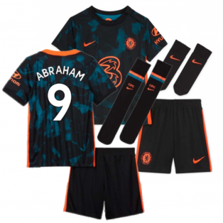2021-2022 Chelsea 3rd Baby Kit (ABRAHAM 9)