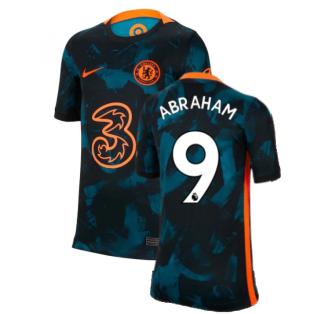 2021-2022 Chelsea 3rd Shirt (Kids) (ABRAHAM 9)
