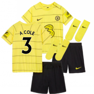 2021-2022 Chelsea Away Baby Kit (A COLE 3)