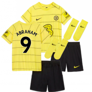 2021-2022 Chelsea Away Baby Kit (ABRAHAM 9)