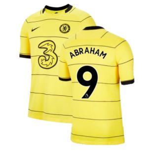2021-2022 Chelsea Away Shirt (ABRAHAM 9)