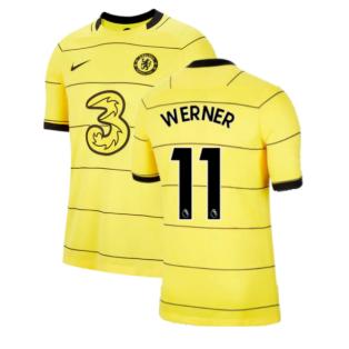 2021-2022 Chelsea Away Shirt (WERNER 11)