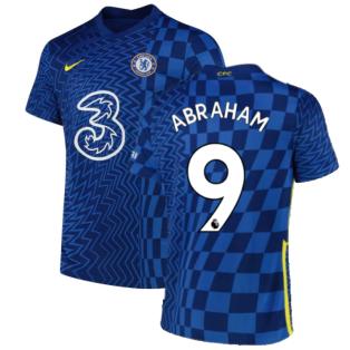 2021-2022 Chelsea Home Shirt (Kids) (ABRAHAM 9)