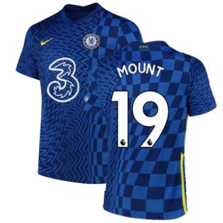 2021-2022 Chelsea Home Shirt (Kids) (MOUNT 19)
