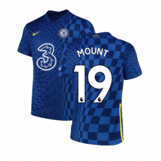 2021-2022 Chelsea Home Shirt (MOUNT 19)