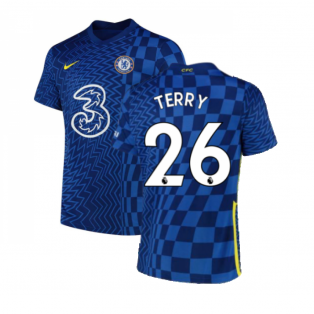 2021-2022 Chelsea Home Shirt (TERRY 26)