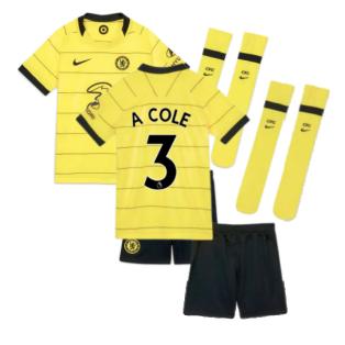 2021-2022 Chelsea Little Boys Away Mini Kit (A COLE 3)