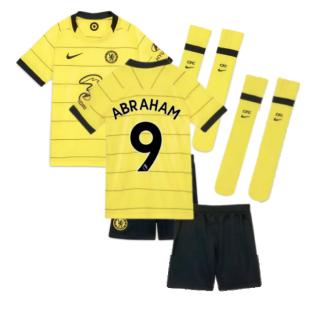 2021-2022 Chelsea Little Boys Away Mini Kit (ABRAHAM 9)