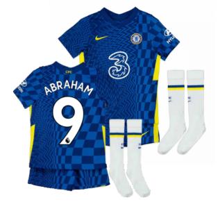 2021-2022 Chelsea Little Boys Home Mini Kit (ABRAHAM 9)