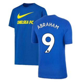 2021-2022 Chelsea Swoosh Club Tee (Blue) (ABRAHAM 9)