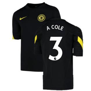 2021-2022 Chelsea Training Shirt (Black) (A COLE 3)