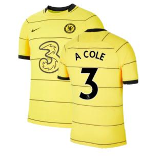 2021-2022 Chelsea Vapor Away Shirt (A COLE 3)