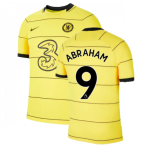 2021-2022 Chelsea Vapor Away Shirt (ABRAHAM 9)