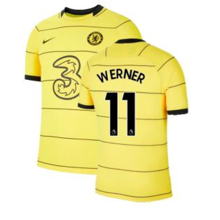 2021-2022 Chelsea Vapor Away Shirt (WERNER 11)