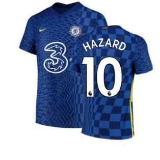 2021-2022 Chelsea Vapor Match Home Shirt (HAZARD 10)