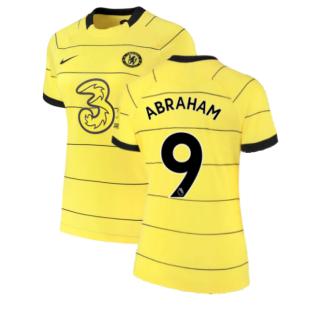 2021-2022 Chelsea Womens Away Shirt (ABRAHAM 9)