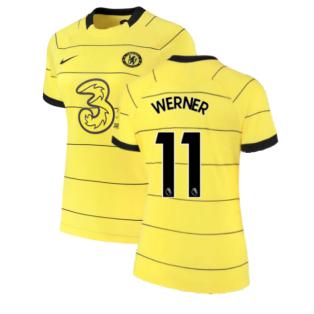 2021-2022 Chelsea Womens Away Shirt (WERNER 11)