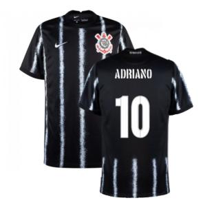 2021-2022 Corinthians Away Shirt (ADRIANO 10)