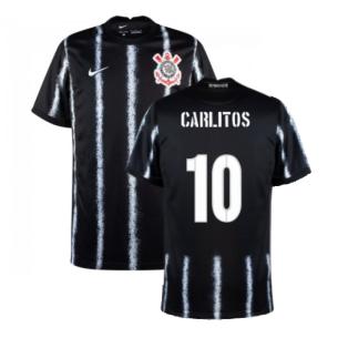 2021-2022 Corinthians Away Shirt (CARLITOS 10)
