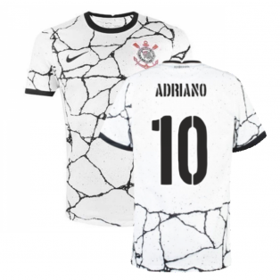 2021-2022 Corinthians Home Shirt (ADRIANO 10)