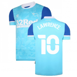 2021-2022 Derby County Away Shirt (LAWRENCE 10)