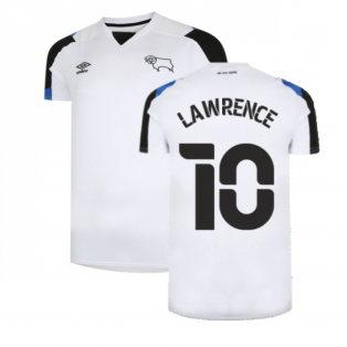 2021-2022 Derby County Home Shirt (Kids) (LAWRENCE 10)
