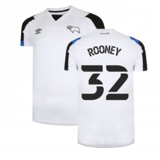 2021-2022 Derby County Home Shirt (Kids) (ROONEY 32)