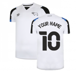 2021-2022 Derby County Home Shirt (Kids) (Your Name)