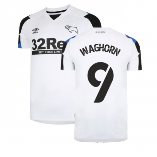 2021-2022 Derby County Home Shirt (WAGHORN 9)