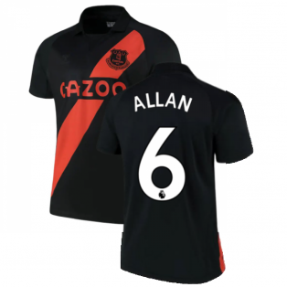 2021-2022 Everton Away Shirt (ALLAN 6)