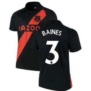 2021-2022 Everton Away Shirt (BAINES 3)