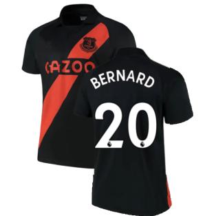 2021-2022 Everton Away Shirt (BERNARD 20)