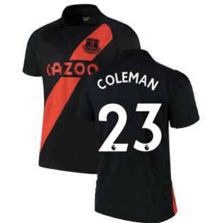2021-2022 Everton Away Shirt (COLEMAN 23)