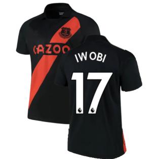 2021-2022 Everton Away Shirt (IWOBI 17)