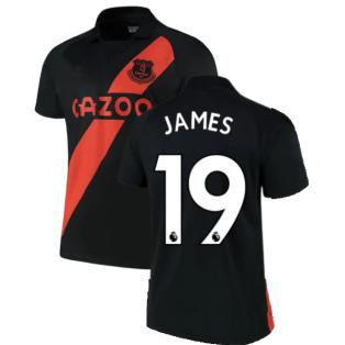 2021-2022 Everton Away Shirt (JAMES 19)